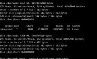 Linux下硬盘操作解析