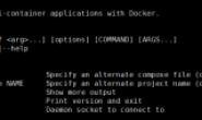 使用docker-compose实现容器编排